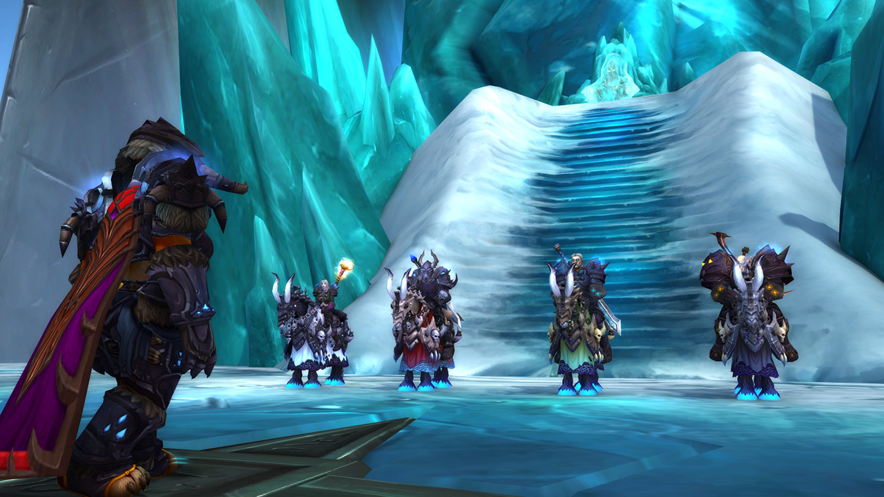 Pandaren Death Knight accepted by Horsemen of the Ebon Blade