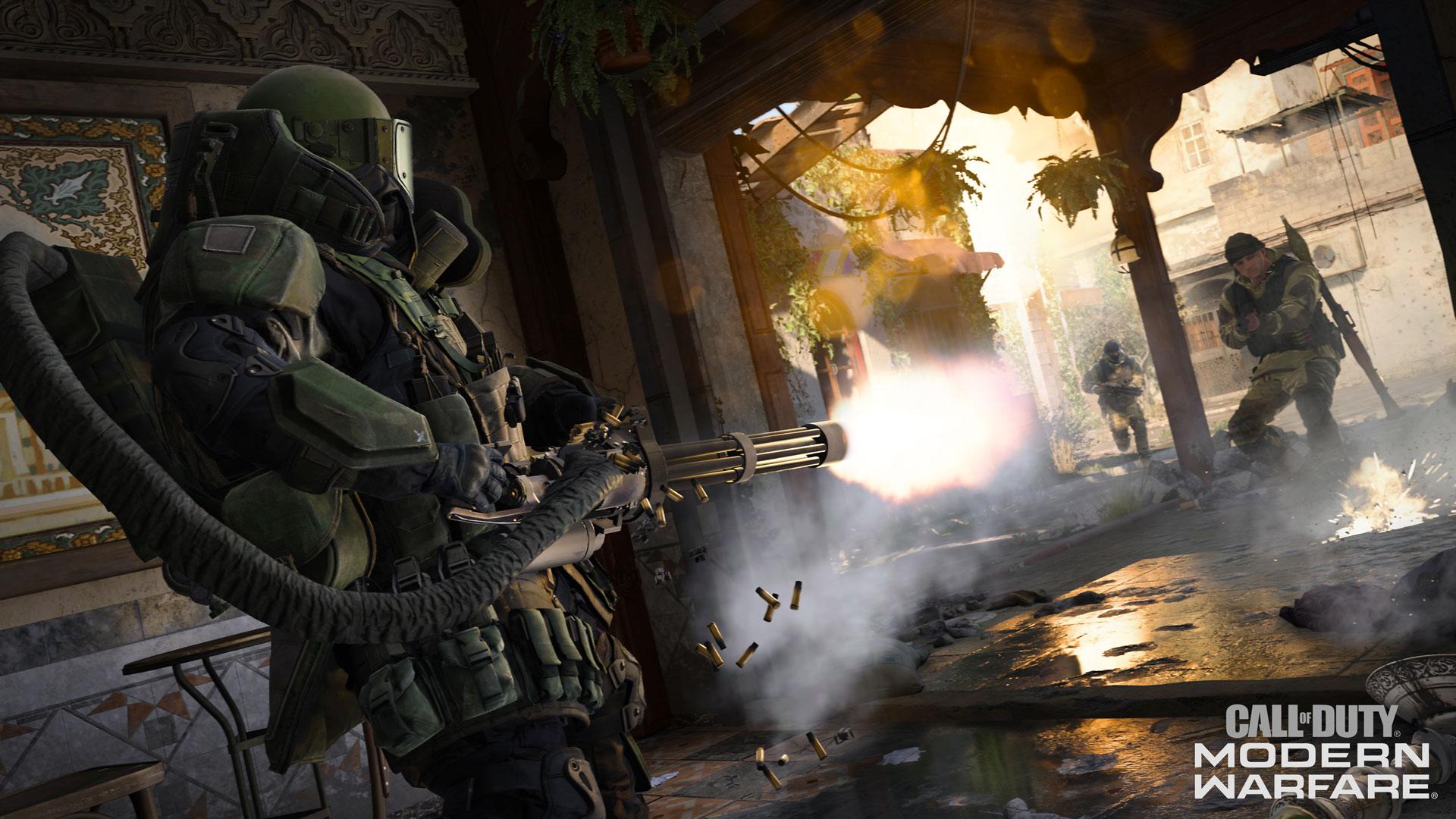 Precarga Y Prepárate Para Call Of Duty Modern Warfare