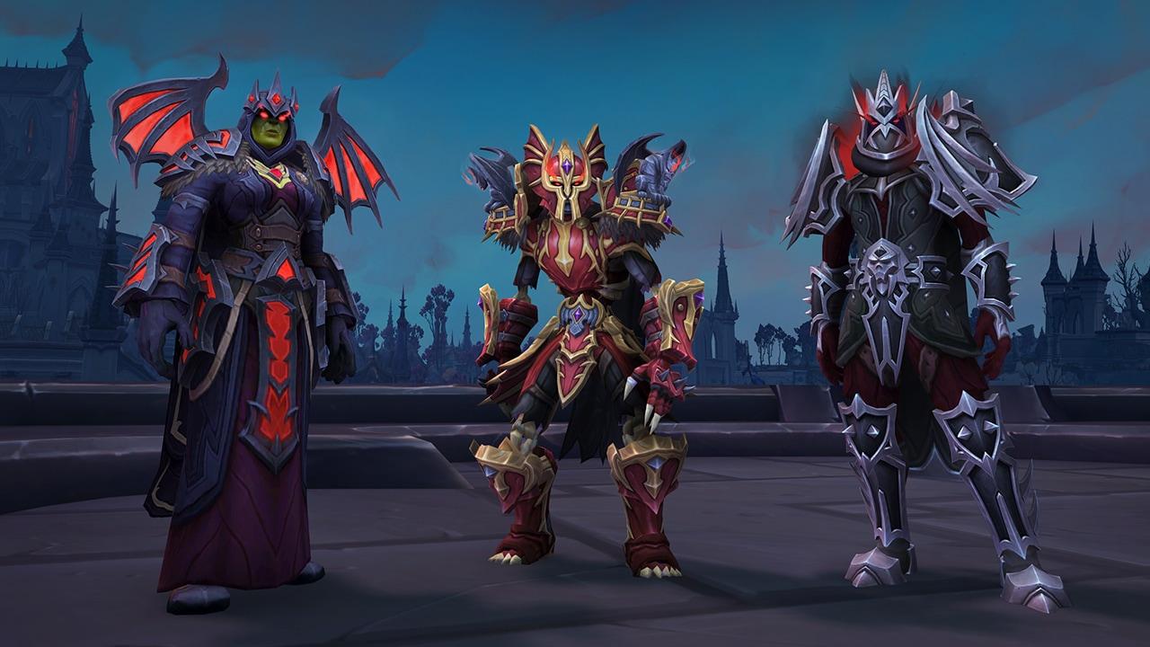 Apariencias de la armadura del pacto Venthyr