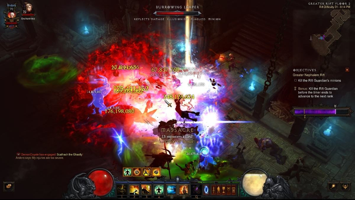diablo 3 how to play wave of light monk