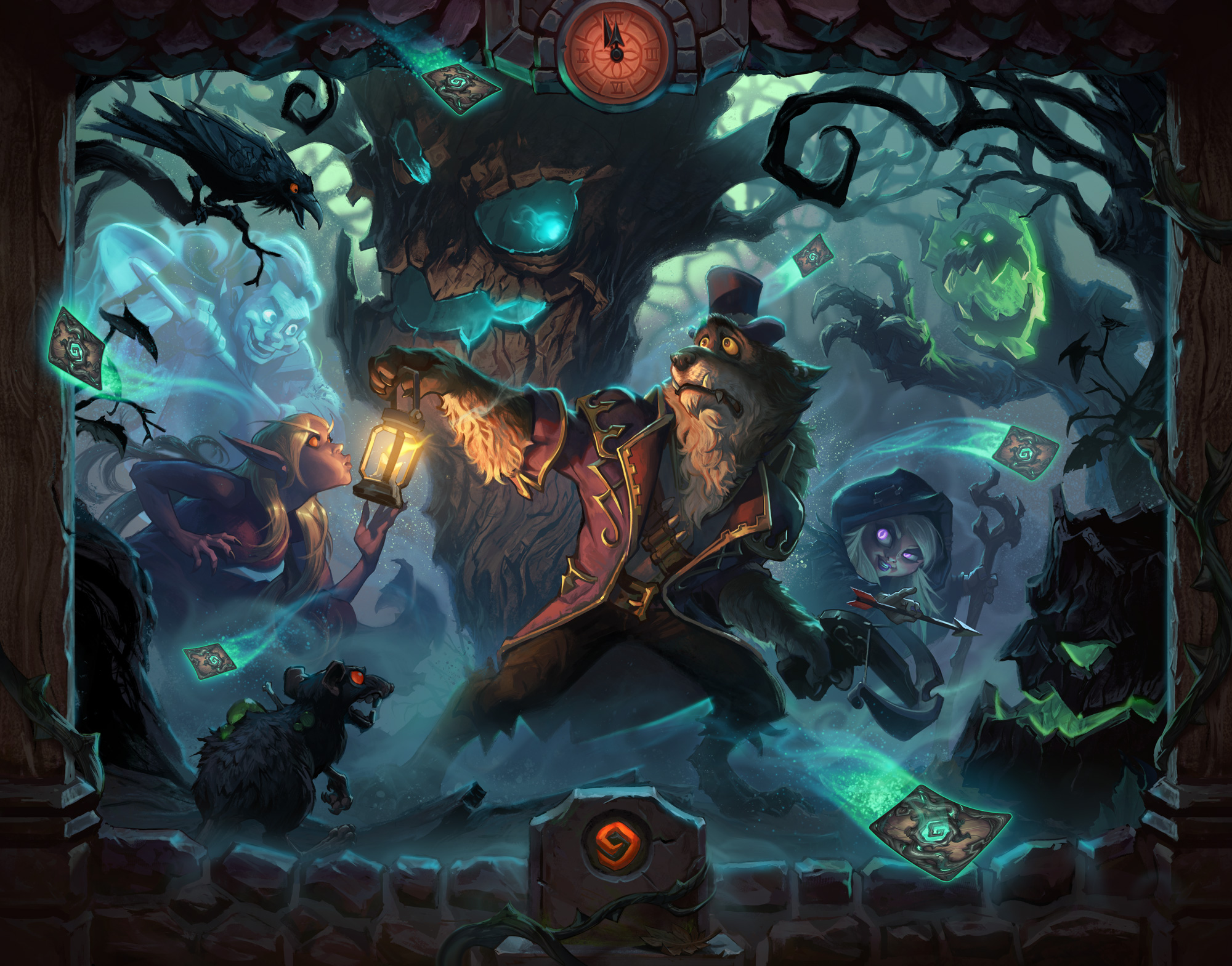 Update 11 0 – April 10 – Enter The Witchwood - Hearthstone