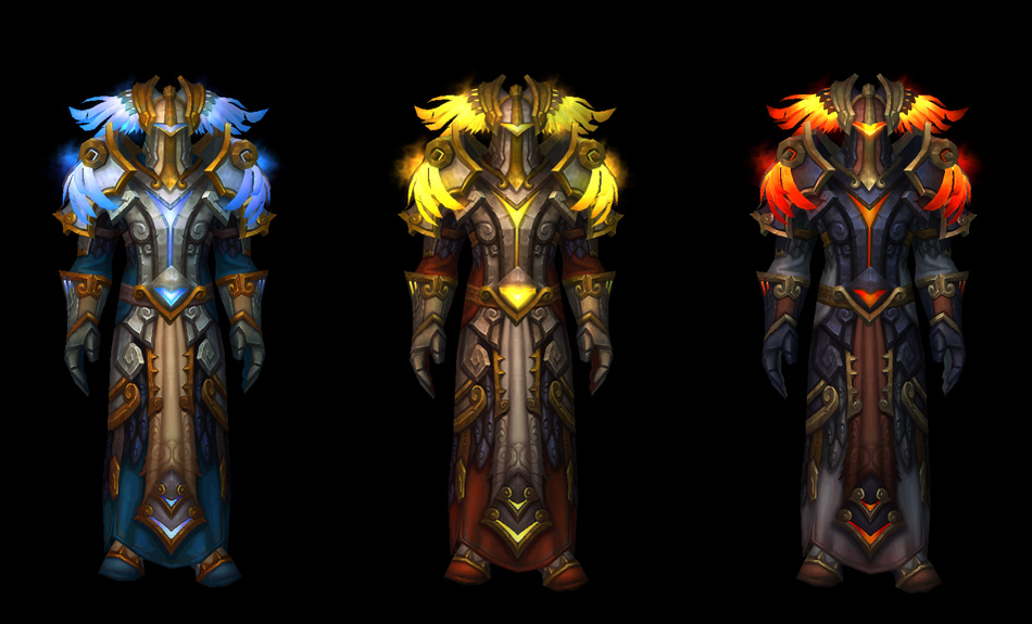 Tier 16 Raid Armor Preview - World of Warcraft