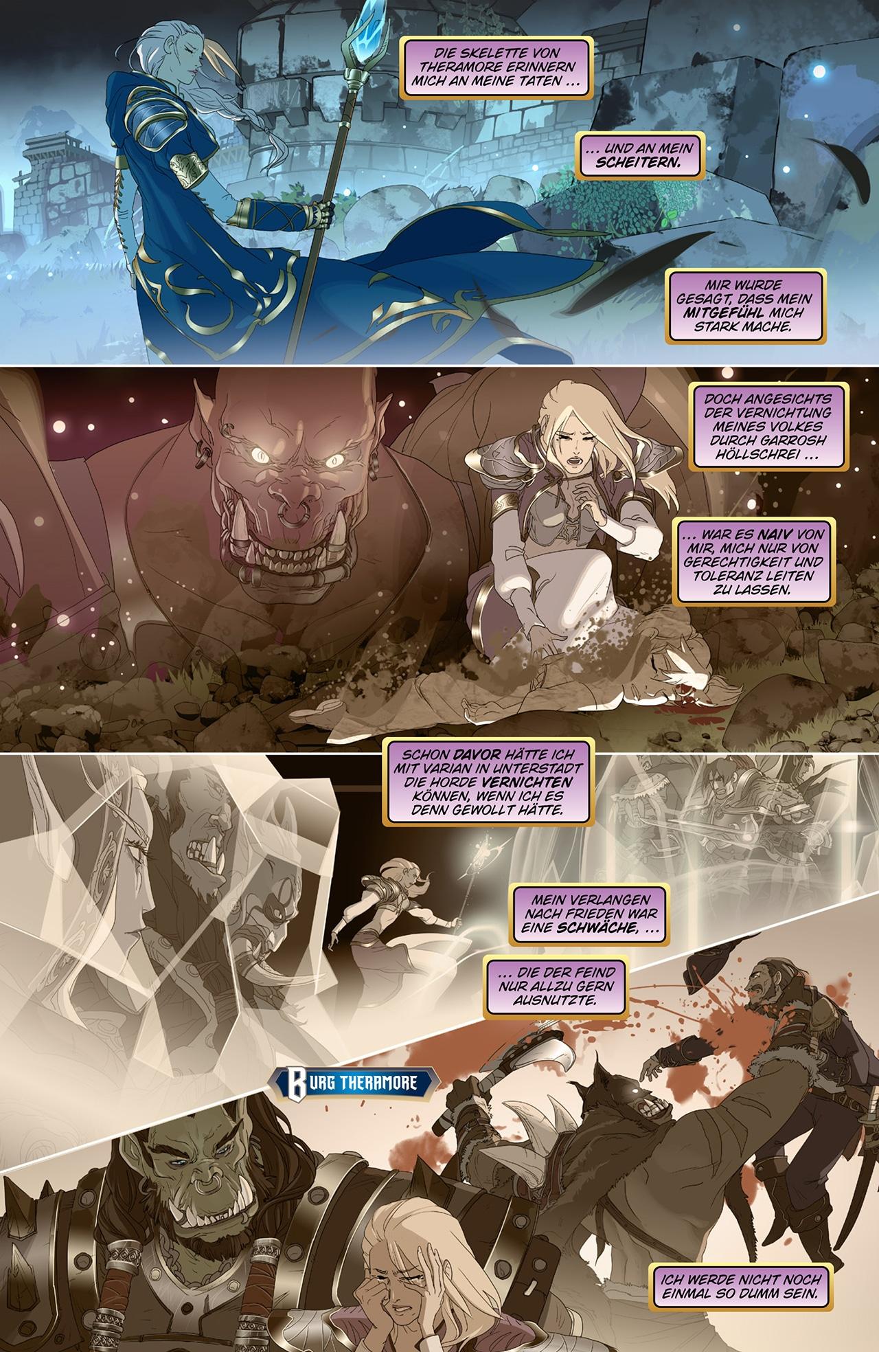 Comic World Of Warcraft Battle For Azeroth 1 Jaina Heimkehr