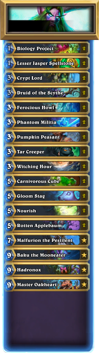 Treat Yourself to a Hallow's End Decklist! - Hearthstone
