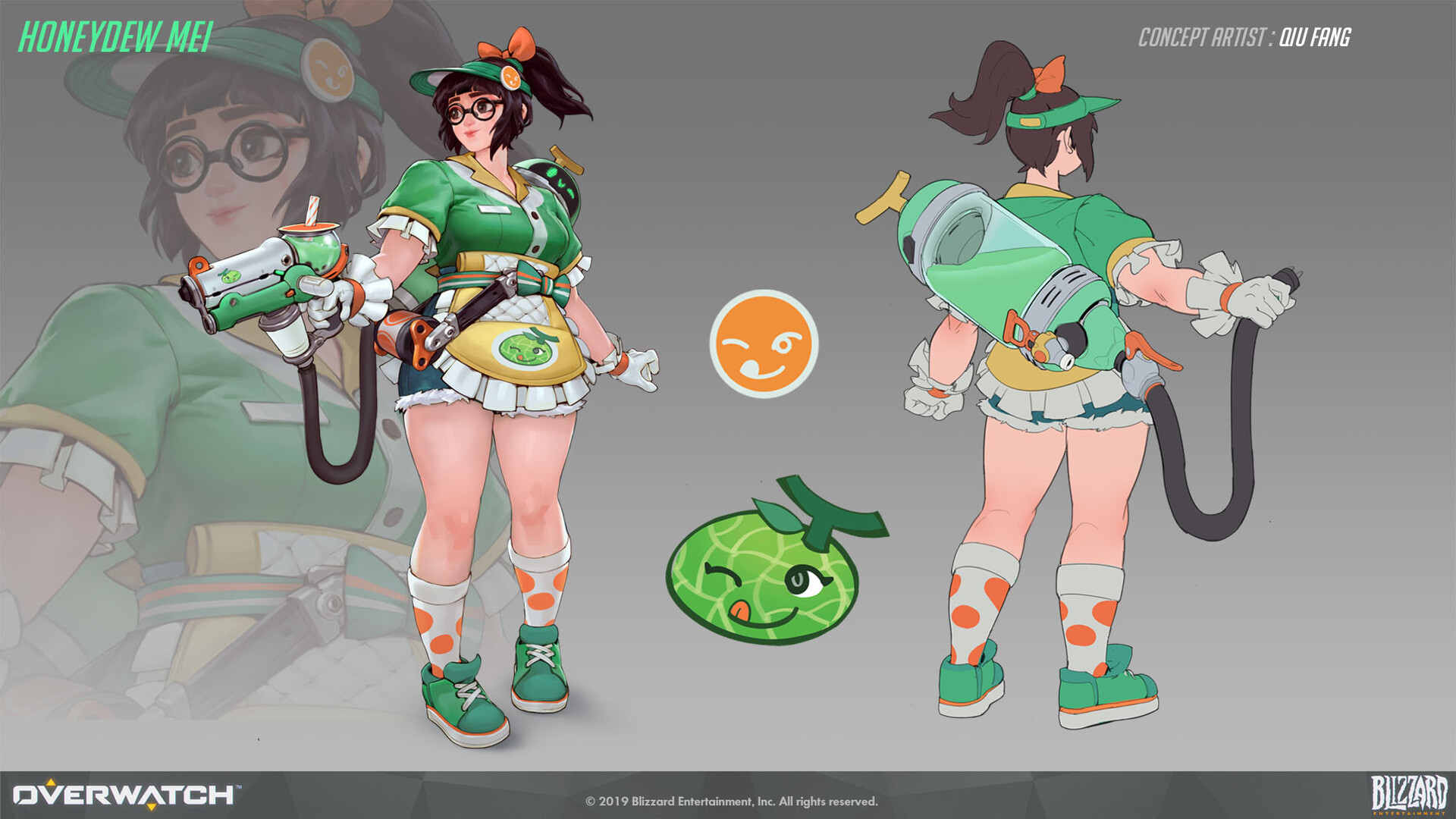 Honeydew Mei Concept Art