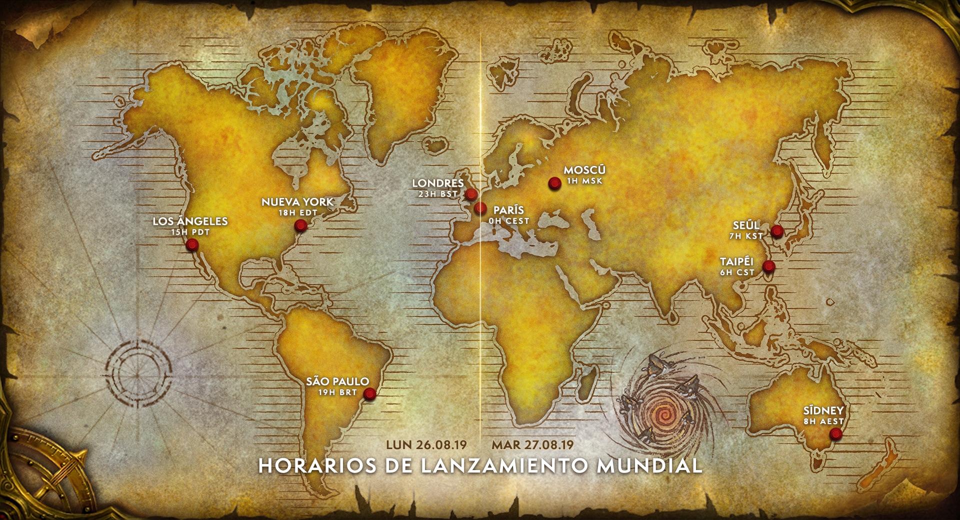 Mapa Reinos Del Este.Anunciado El Calendario De Pruebas Y Lanzamiento De World Of