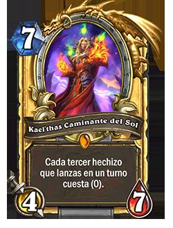 Carta Kael'thas, Caminante del Sol