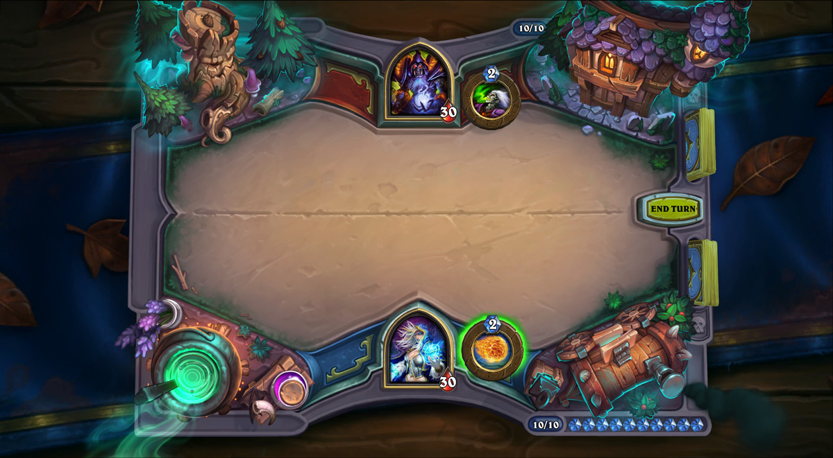 Hearthstone's next expansion sees players enter The Witchwood