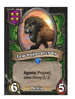 Lew bujnogrzywy
