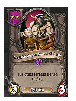 Carta Capitán de los Mares del sur