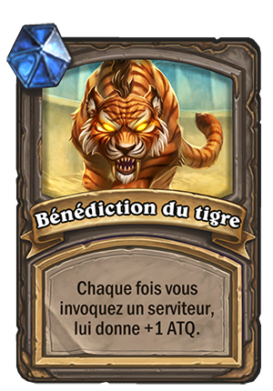 Bénédiction du tigre