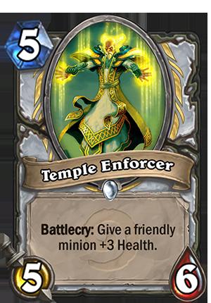 Temple Enforcer