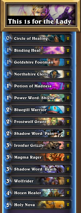 Blizzard Has Some Cheap Deck Suggestions for Defeating The