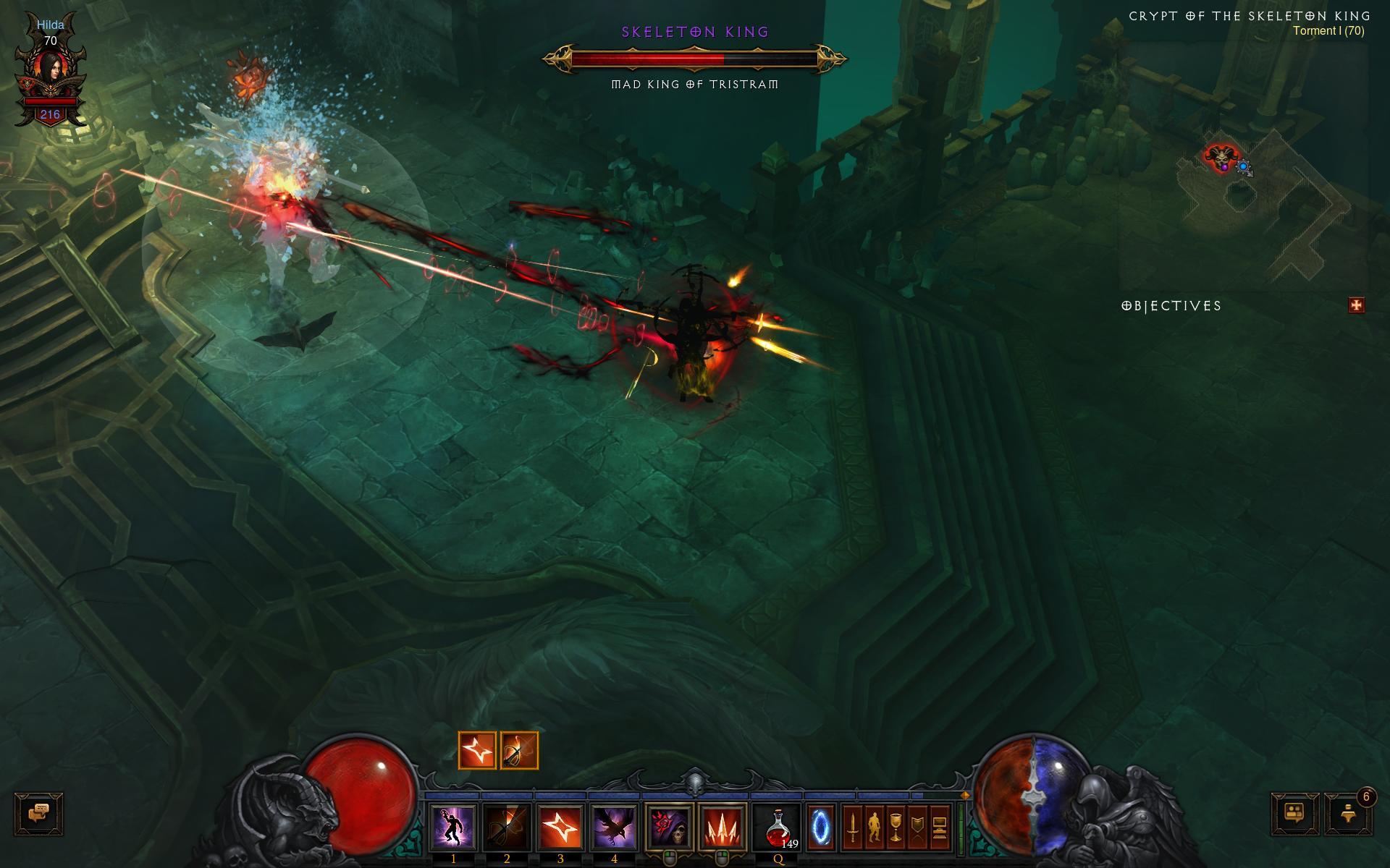 Outlaw S Multiple Rocket Launcher Demon Hunter Diablo Iii