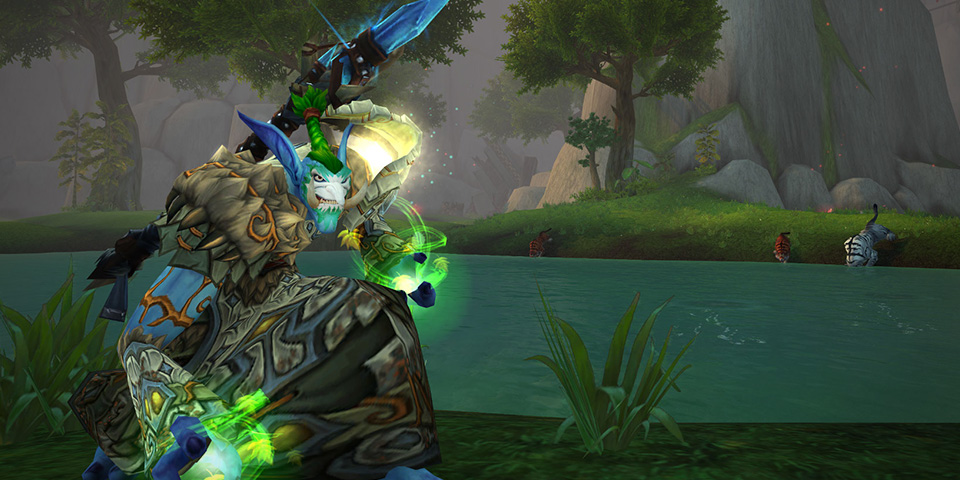 Troll Druid; Picture courtesy Blizzard