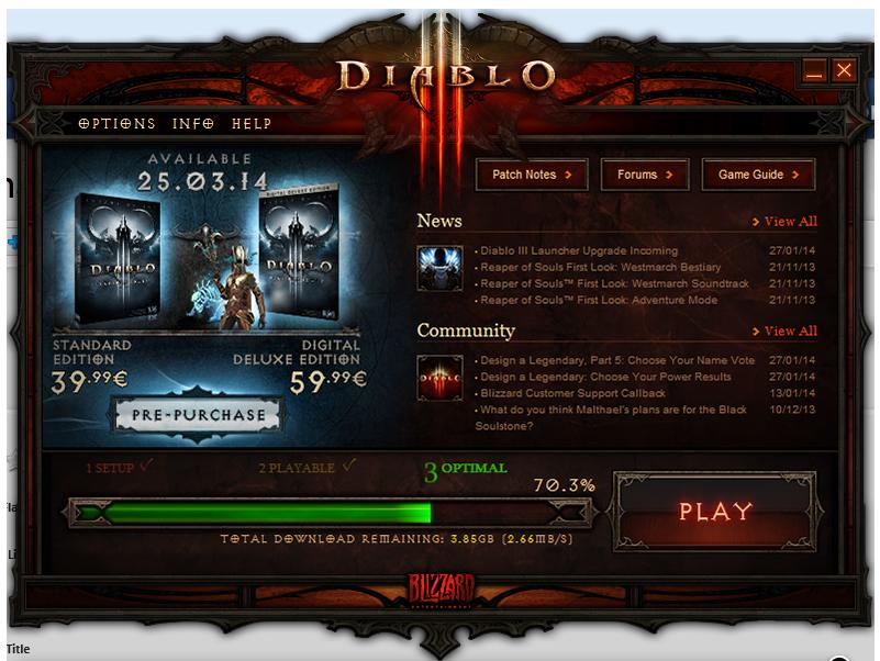 Diablo 3 лаунчер скачать - фото 4