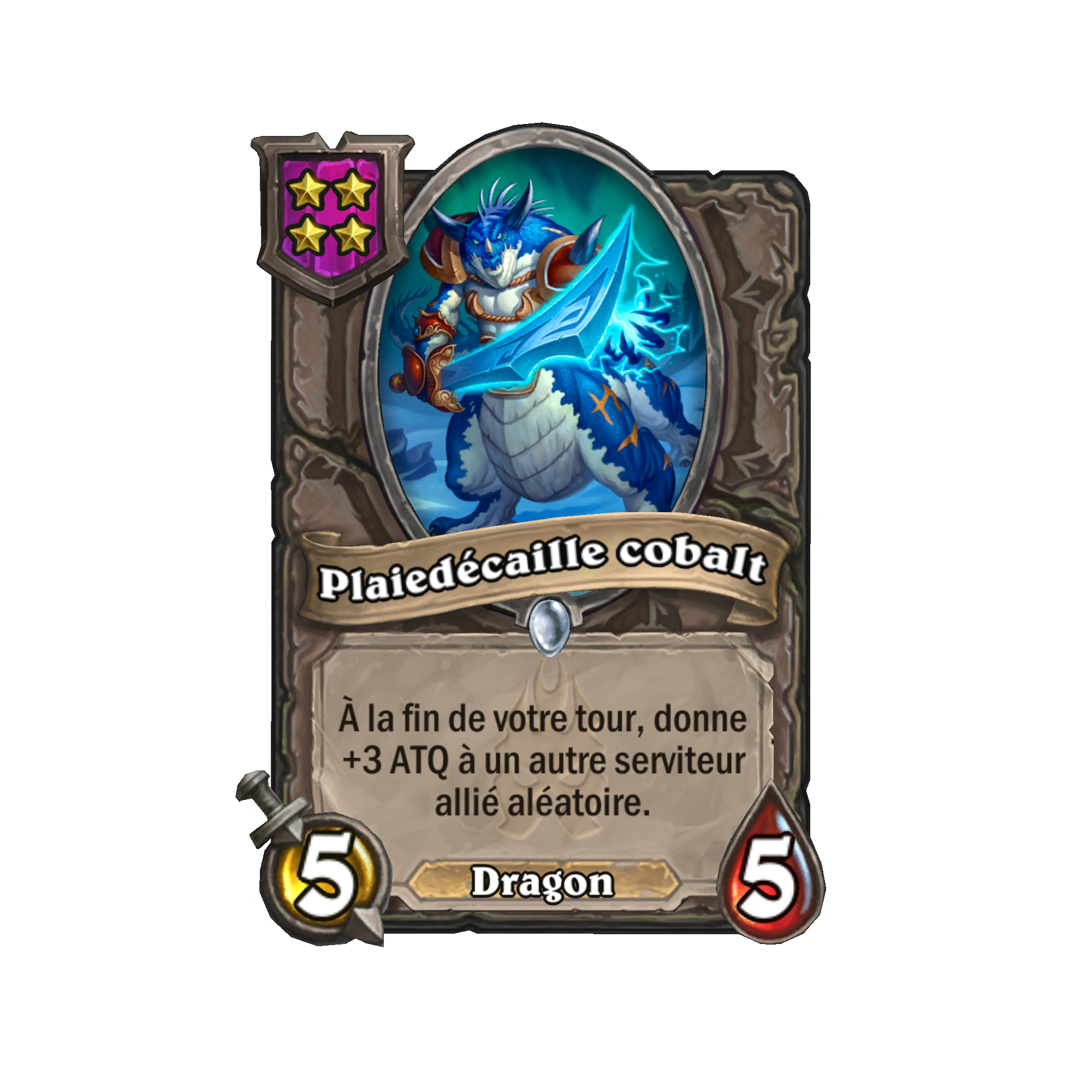 Plaiedécaille cobalt