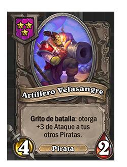 Carta Artillero Velasangre