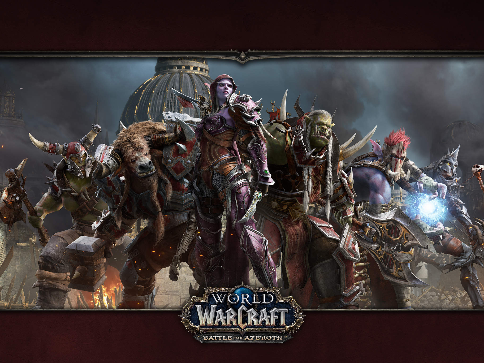 world of warcraft wallpaper  Battle for Azeroth - Media - WoW