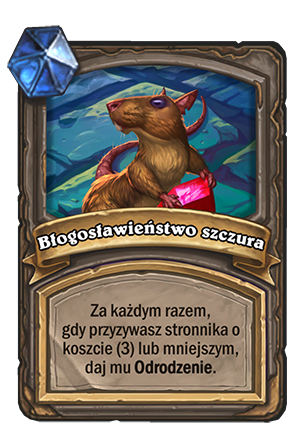Błogosławieństwo szczura