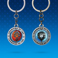 World of Warcraft Faction Keychain