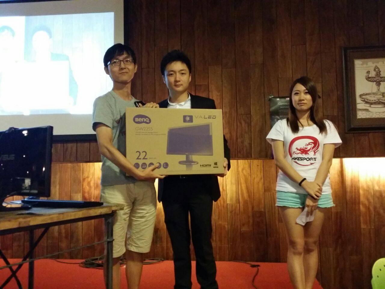 《爐石戰記》香港區資格賽冠軍 - Shy