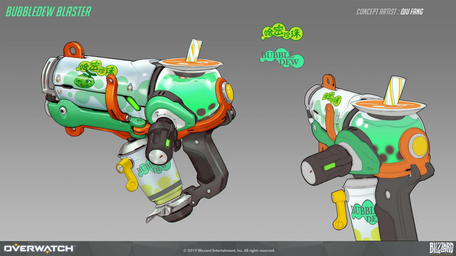 Bubbledew Blaster Concept Art