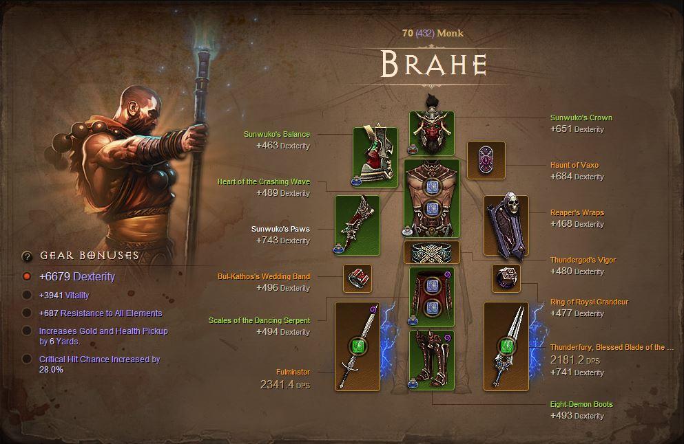 Diablo  Reaper Of Souls Barbarian Build Lvl