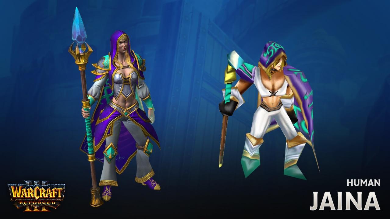 Состоялся выход Warcraft III: Reforged