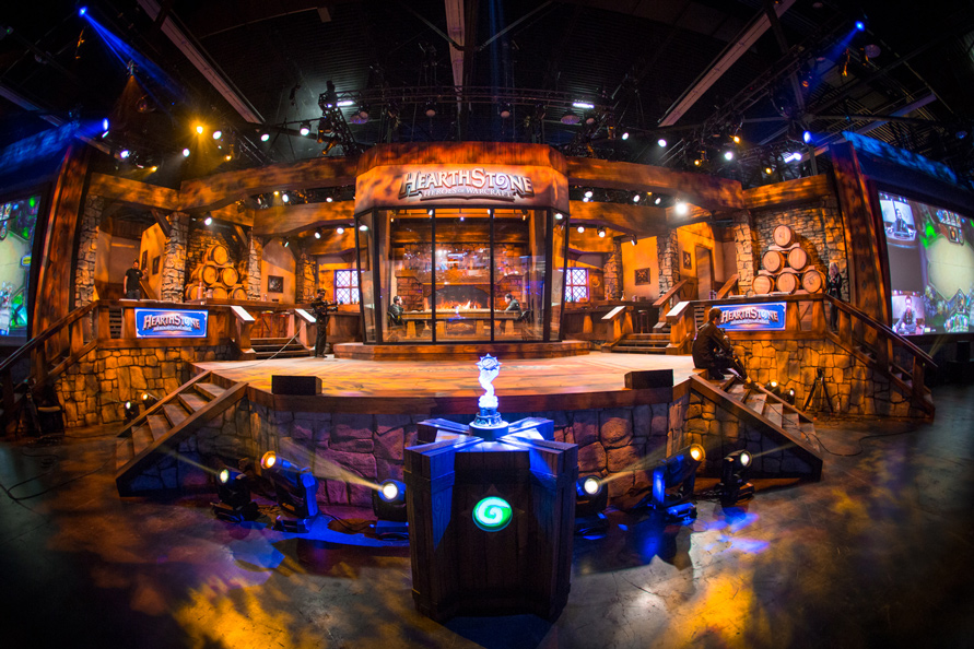 Hearthstone at blizzcon 2015 day one world of warcraft wowcenter