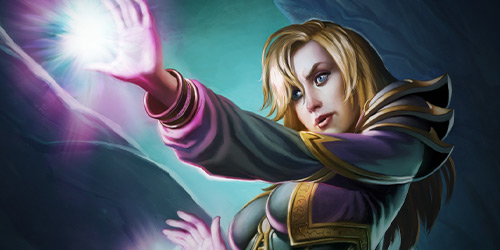 Studious and talented jaina immediately took to the arcane arts her