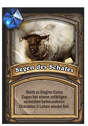 Segen des Schafes