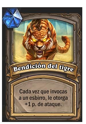 Bendición del tigre