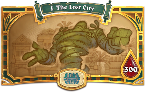 Chapter 1: The Lost City
