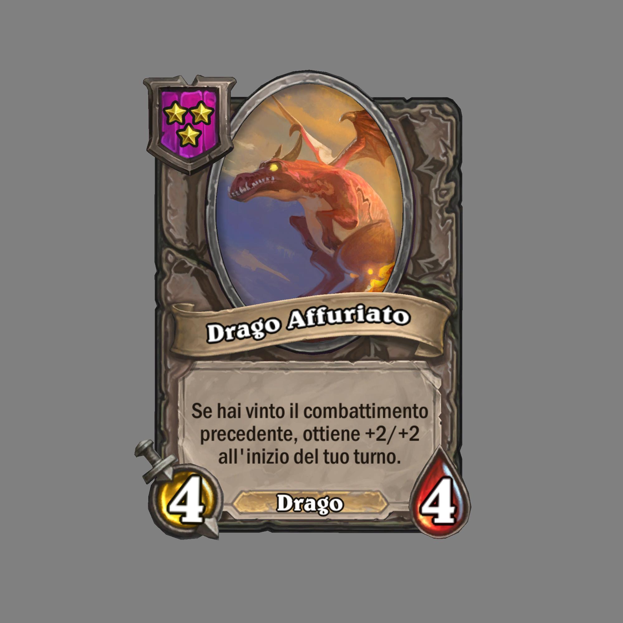 Drago Affuriato