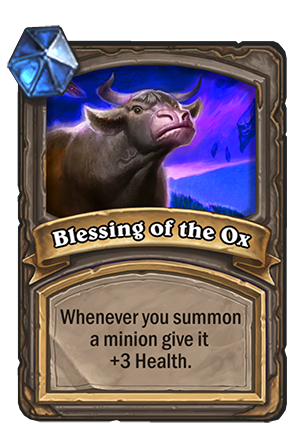 Blessing of the Ox