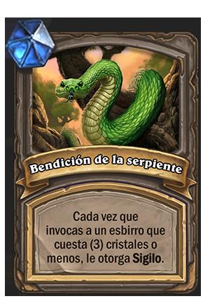 Bendición de la serpiente