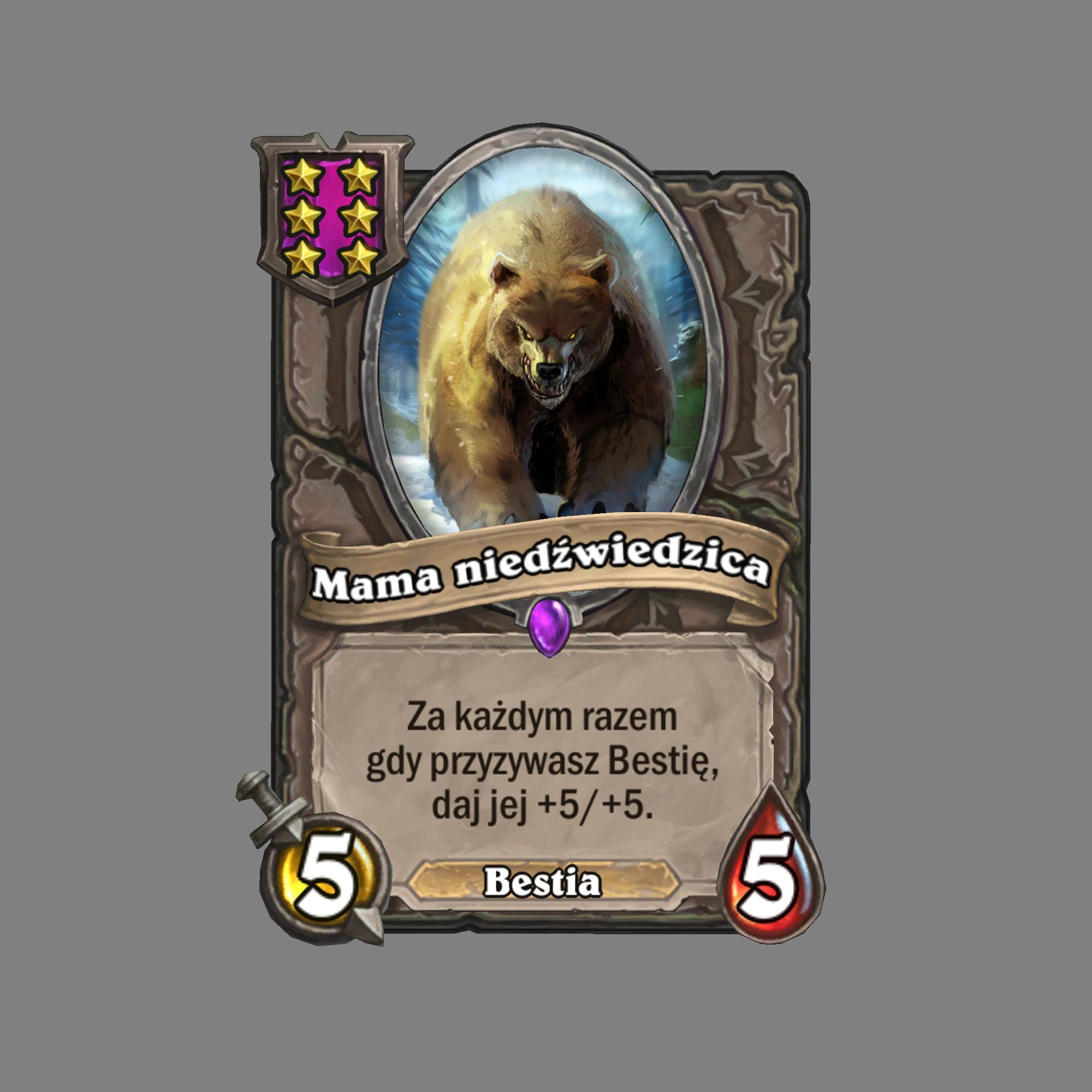 Mama niedźwiedzica