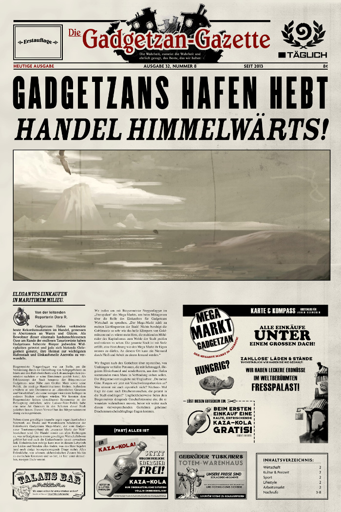 Die Gadgetzan-Gazette – Ausgabe 32, Nummer 8