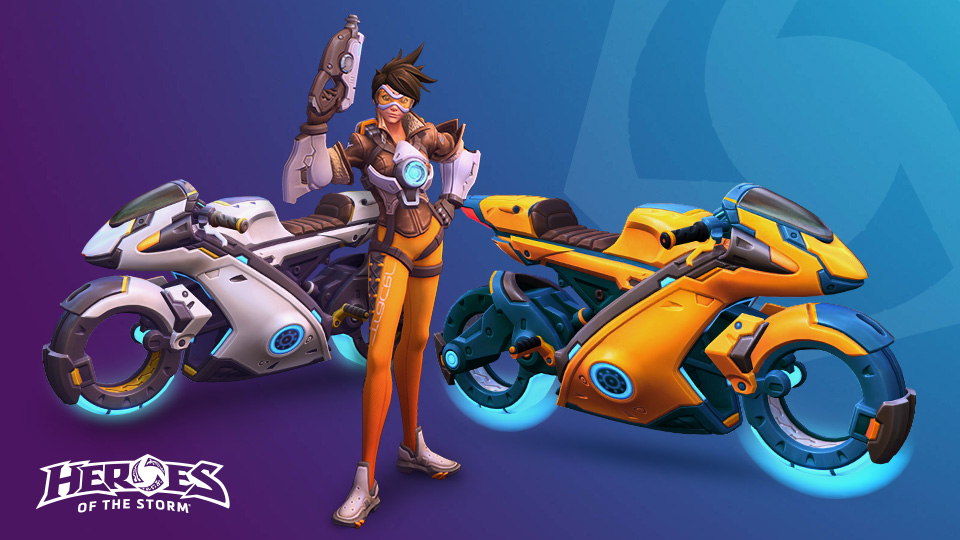 Heroes of the Storm items from the Celebration Collection