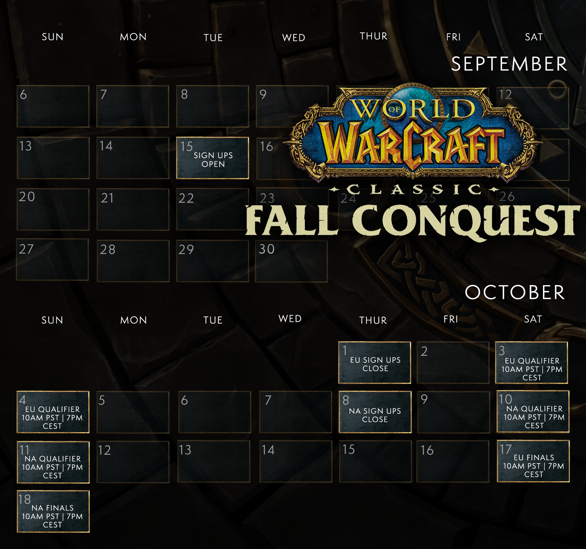 WoW Classic Fall Conquest Schedule.png