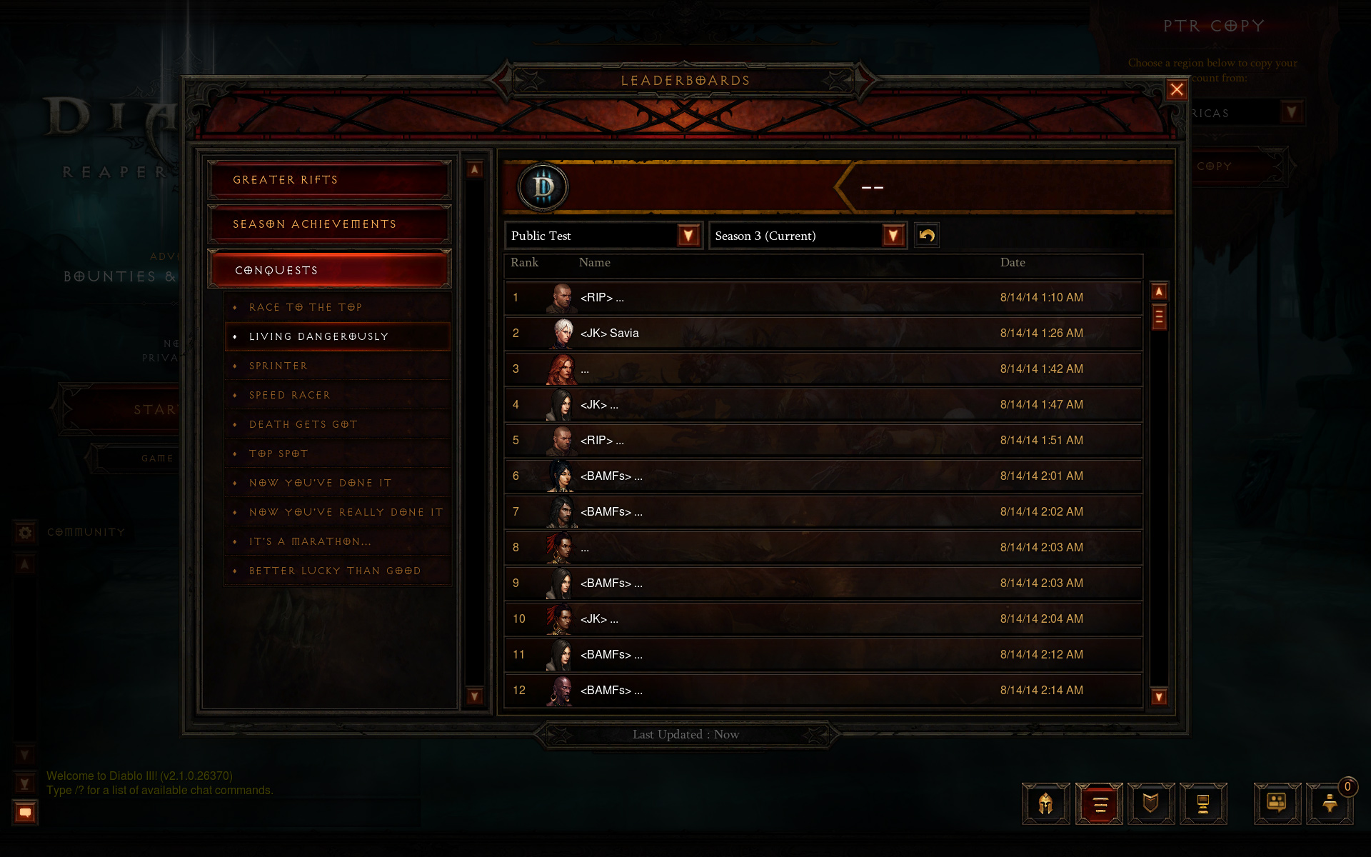 Patch 2.1.0 Preview: Seasons - Diablo III