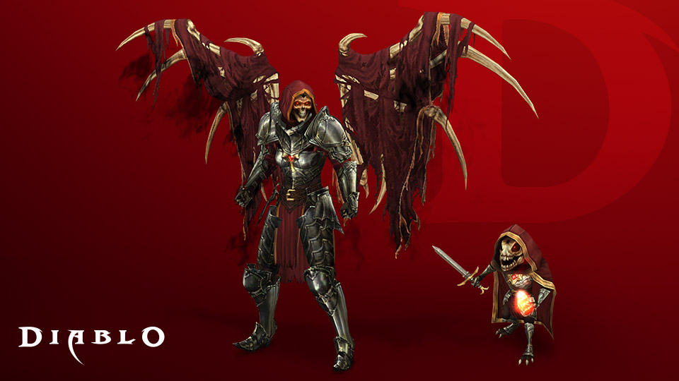 Diablo III items from the Celebration Collection
