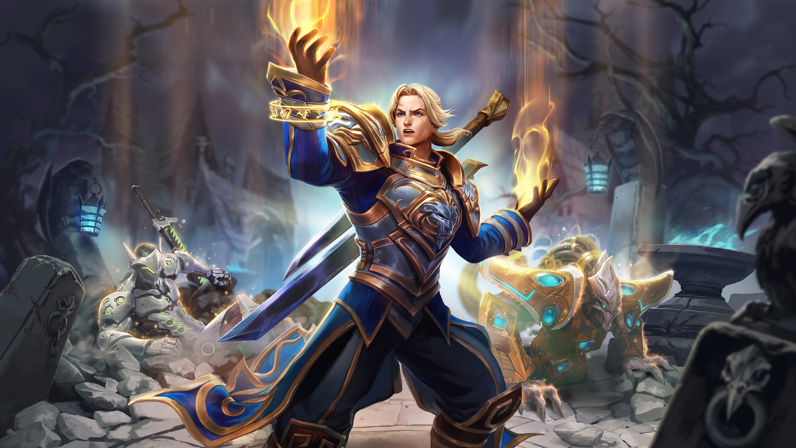 Imperius Anduin Qhira Deathwing And More Heroes Of The Storm 2019 In Review Heroes Of The Storm Blizzard News While she searches, she gets by as a. heroes of the storm 2019 in review