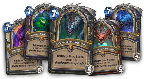 Hearthstone Update December 5 Descent Of Dragons Hearthstone