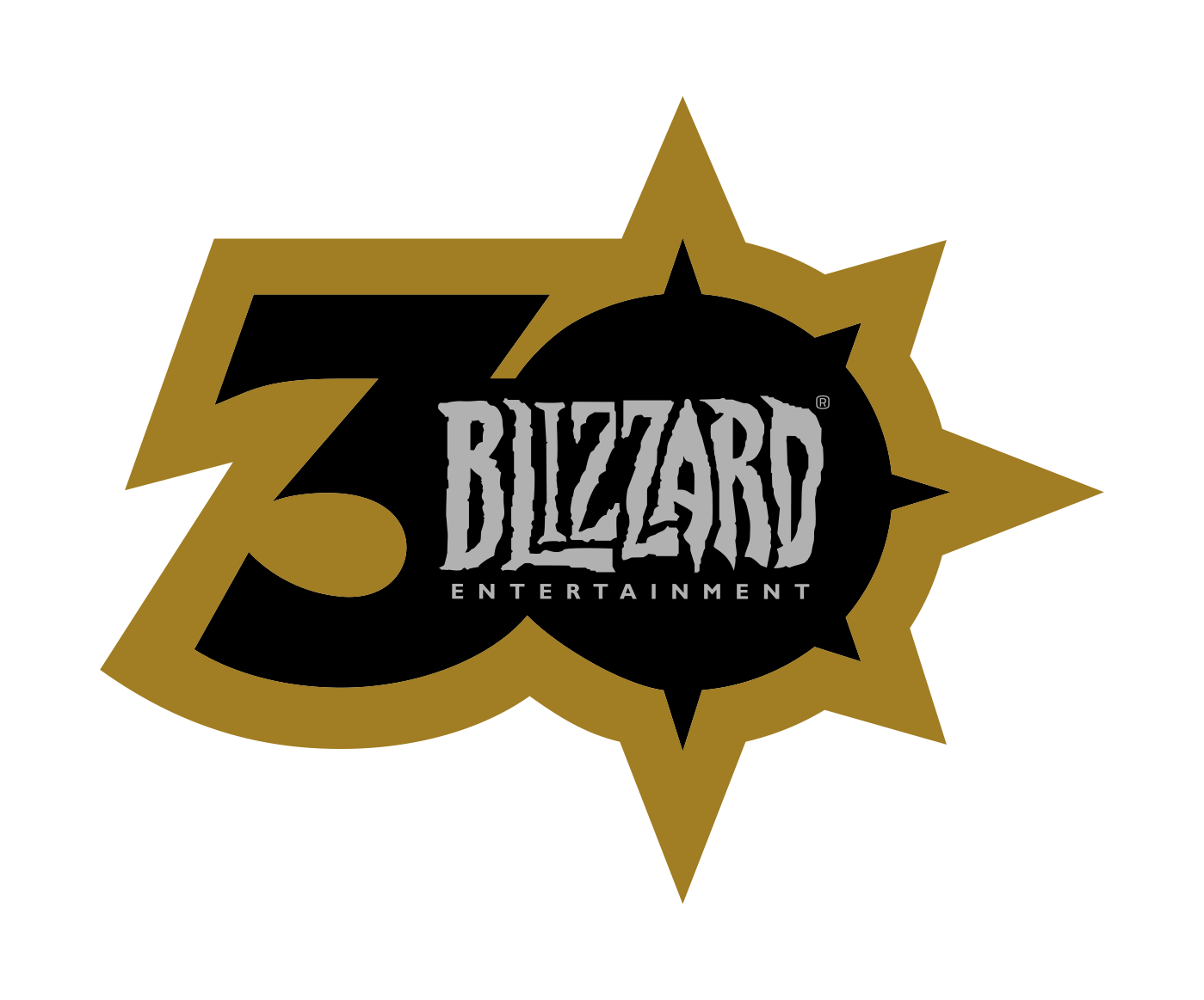 Blizzard 30th Anniversary Logo