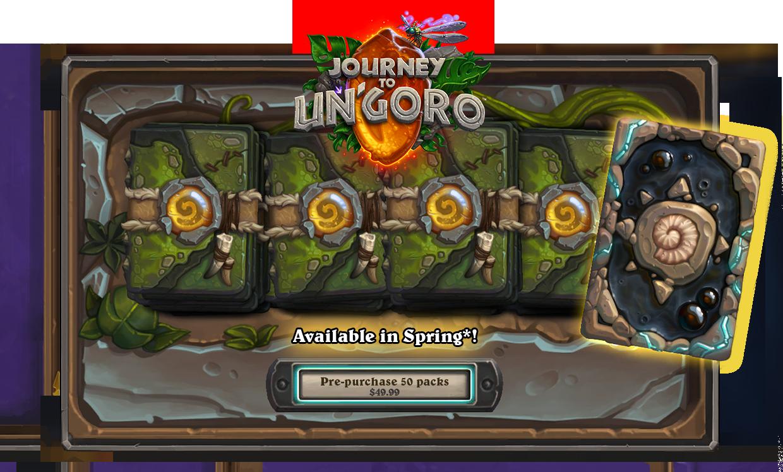 Prepare to Embark on a Journey to Un'Goro! - Hearthstone