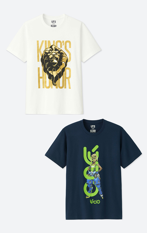 UNIQLO WoW and Overwatch T-Shirts