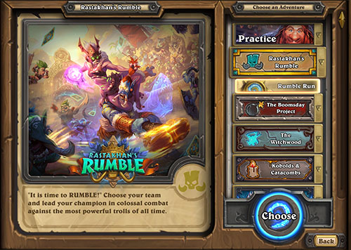 Be Ready for the Rumble! - Hearthstone