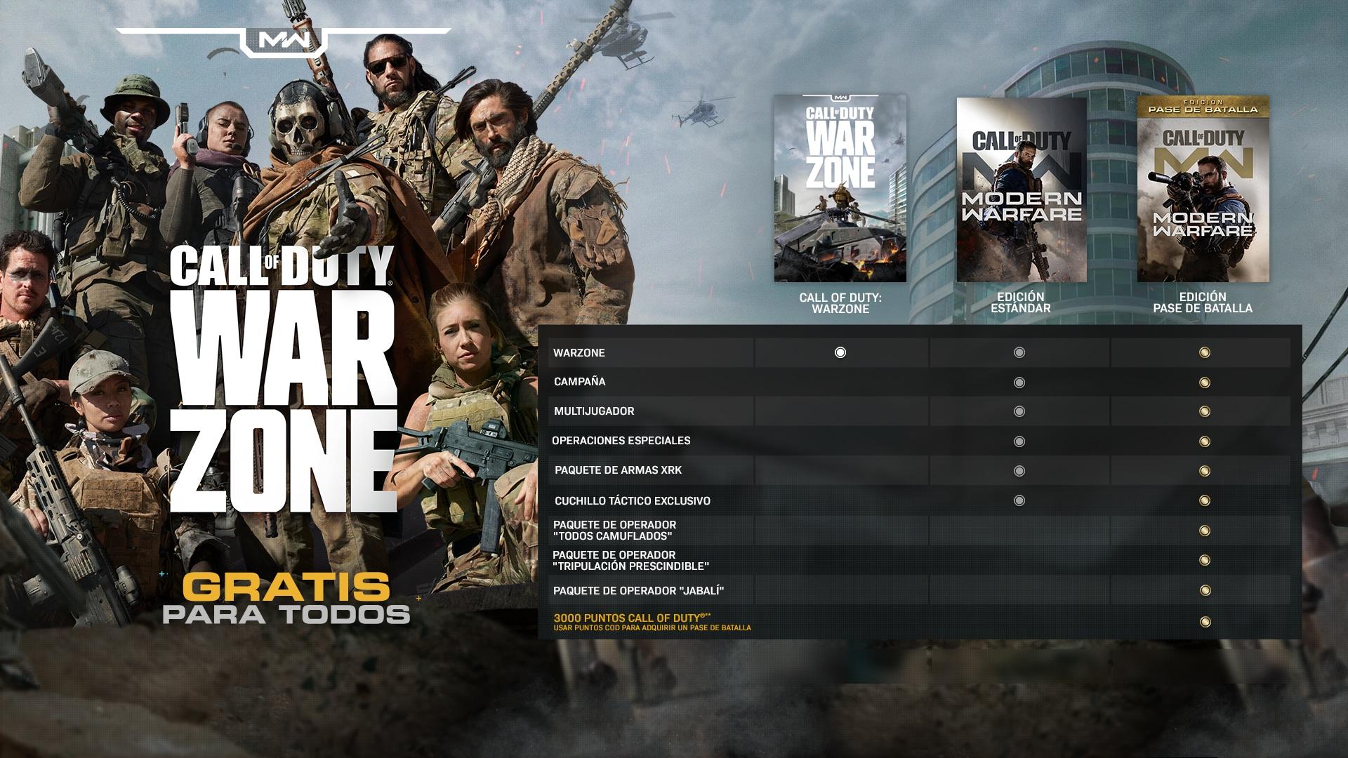 Call Of Duty Warzone Gratis Para Todos El 10 De Marzo Todas Las Noticias Noticias De Blizzard